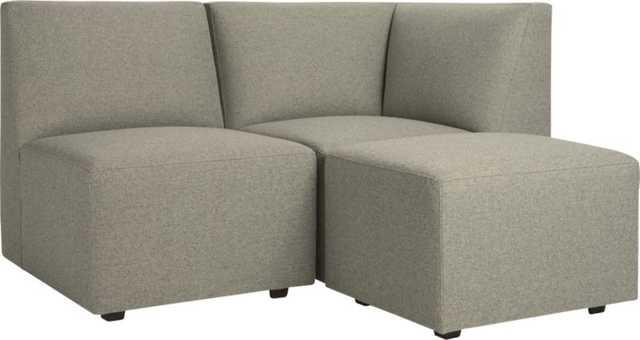 layne 3-piece sectional sofa - CB2