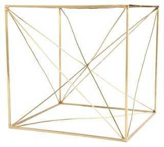 "8"" Geometric Table Sculpture - One Kings Lane"