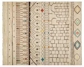 "8'1""x9'10"" Moroccan Oriental Rug - One Kings Lane"