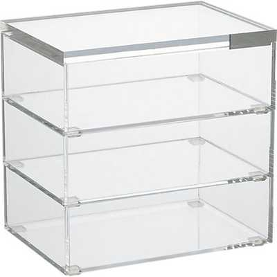 Format stacking boxes set of 3 - CB2