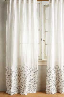 "Ophelia Curtain-96"" - Anthropologie"