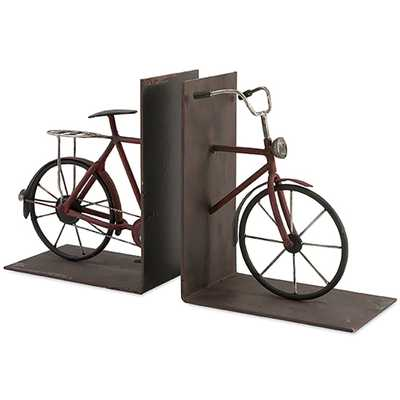 Renee Bicycle Bookends - High Fashion Home