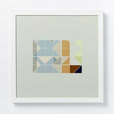 Alyson Fox Print - Forms I - 14x14, Framed - West Elm