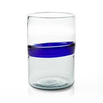 San Miguel Glass Hurricane Candle Holder - Crate and Barrel
