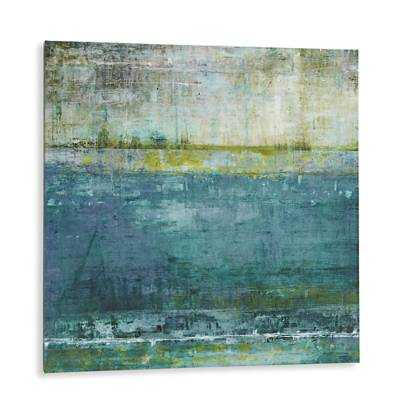 "Looking At the Horizons Wall Art-36"" sq. x 1-1/2""D-unframed - Grandin Road"