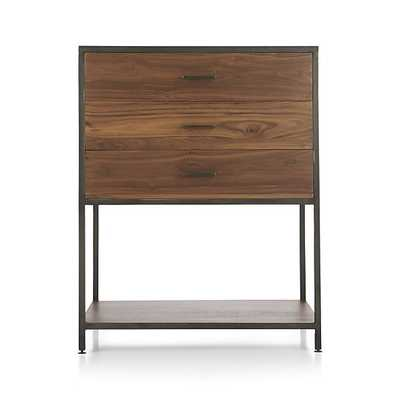 Knox Low Storage Bookcase - Crate and Barrel