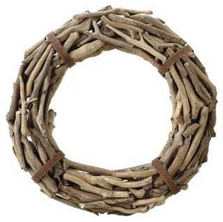 "21"" Driftwood Wreath - One Kings Lane"