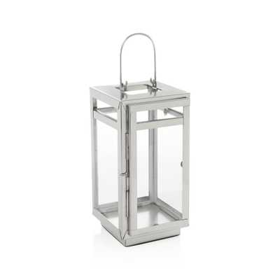 Dunley Small Metal Lantern - Crate and Barrel