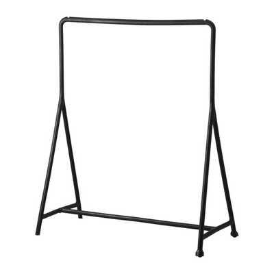 TURBO Clothes rack, indoor/outdoor, black - Ikea