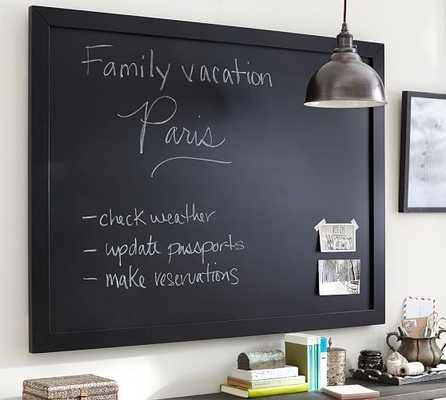Framed Chalkboard - Small, Black - Pottery Barn