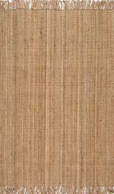 "Maui Chunky Loop Rug - Natural - 7' 6"" x 9' 6"" - Rugs USA"