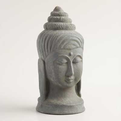 Large Paper Mache Buddha Head - World Market/Cost Plus