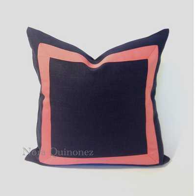 Cotton Canvas Pillow Cover - Etsy
