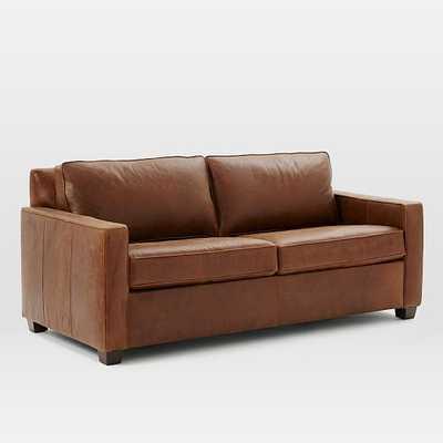 Henry® Leather Sleeper Sofa - West Elm