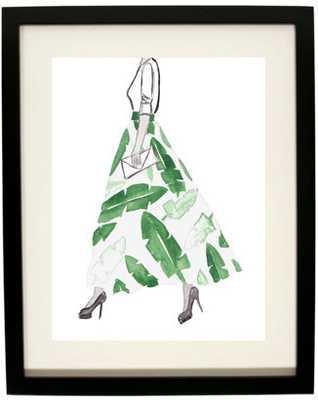 """Hand Painted Fashion Illustration - 11 × 14"""" - Etsy"""