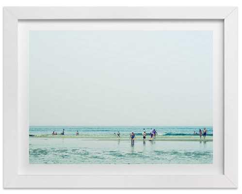 "Mint Beach - 14x11"" - Unframed - Domino"