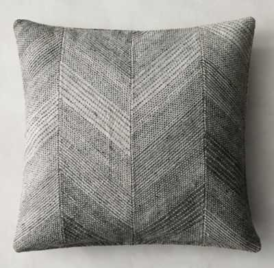 """CELA PILLOW COVER - 22"""" sq.-insert not included - RH"""