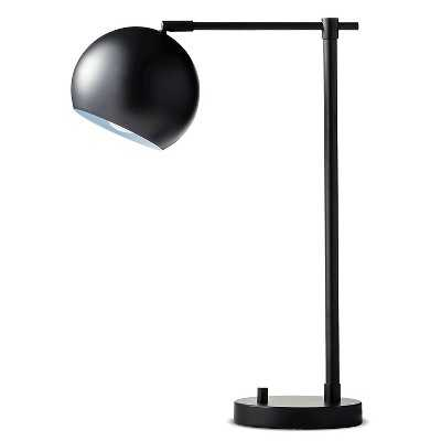 Brass Task Lamp - Ebony - Target