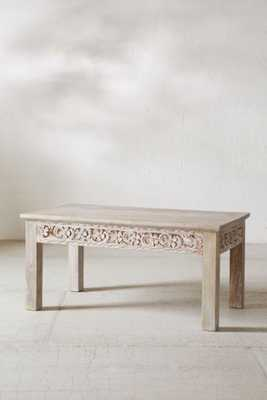 Rashmi Carved Coffee Table - Urban Outfitters