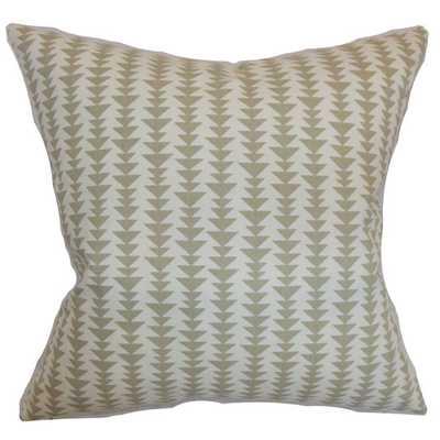 "Jiri Cotton Throw Pillow - 18""-Down/Feather insert - AllModern"