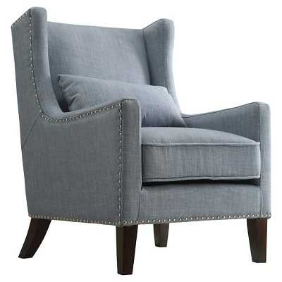 Murray Wingback Arm Chair Blue - Target