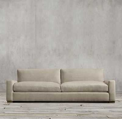 MAXWELL UPHOLSTERED SLEEPER SOFA - 7' - Army duck, Taupe, Standard fill - RH