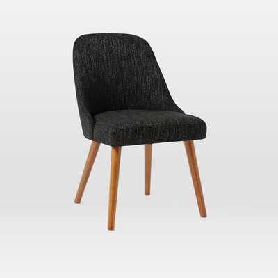 Mid-Century Dining Chair  - Individual - Charcoal - West Elm