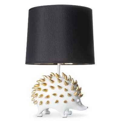 Hedgehog Figural Table Lamp (Includes CFL Bulb) - Target