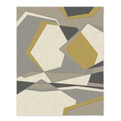"Roar + Rabbit Geoscape Wool Rug - 8"" x 10"" - West Elm"