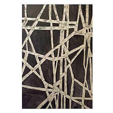 Golden Midnight - 43''W x 60''H  - Unframed - Z Gallerie