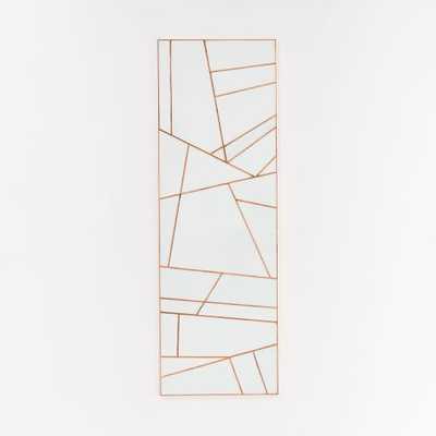 Roar + Rabbit Rhythmic Lines Wall Art - Individual - West Elm