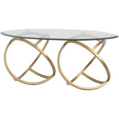 Metal Hoops Coffee Table - Wayfair