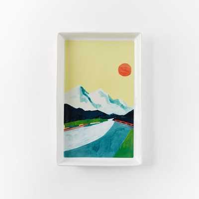 Collector's Editions Plates - Color Landscape - West Elm
