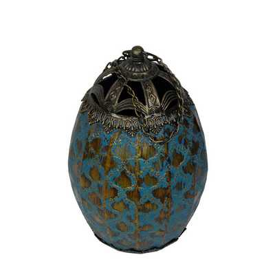 Moroccan Metal Lantern - Wayfair