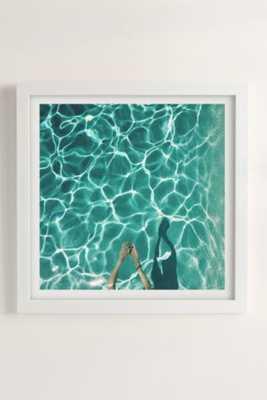 Max Wanger Diver Art Print -30x30 - Framed - Urban Outfitters