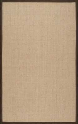 Maui Sisal Herringbone Rug - Brown, 6' X 9' - Rugs USA