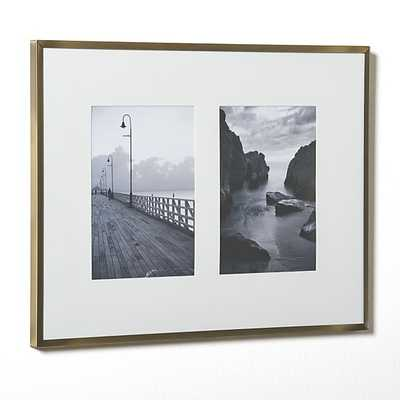 Hendry Double 5x7 Wall Frame - Crate and Barrel