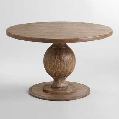 Round Blanca Table - World Market/Cost Plus