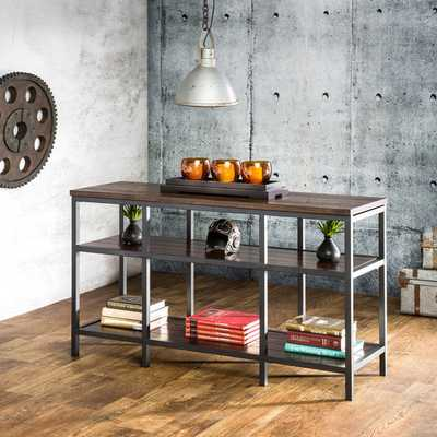 Furniture of America Payton Industrial Tiered Sofa Table - Overstock