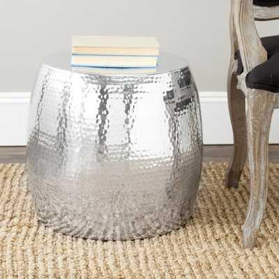 Safavieh Vanadium Silver Round Table - Overstock