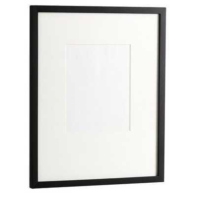 "Gallery Individual Frame - Black - 9"" x 11"" - West Elm"