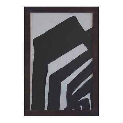 "AMPHITHEATER 1 - 13"" H x 20"" W - Framed - Dwell Studio"