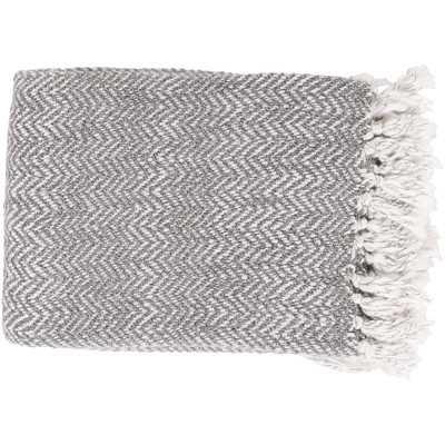 Massey Throw Blanket - Gray - Wayfair