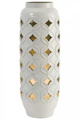 CALVINIA CUTWORK CERAMIC LAMP - Home Decorators