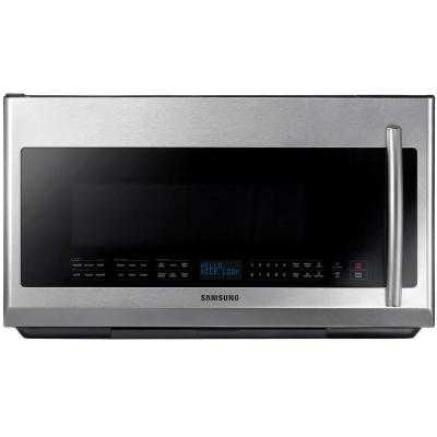 Microwave in Stainless Steel with Sensor Cooking and LED Cooktop Lighting - Home Depot