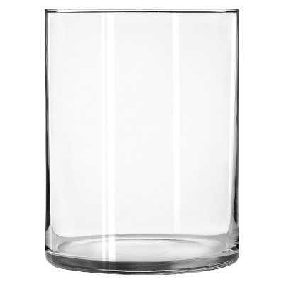 """Wide Cylinder Vase (8"""") - Target"""