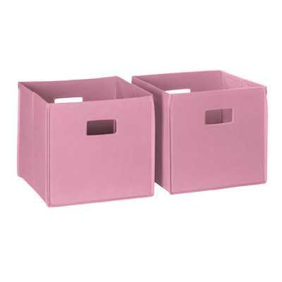 Folding Storage Bin by RiverRidge Kids - Wayfair