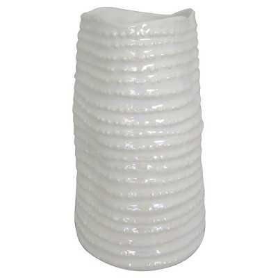 """Thresholdâ""""¢ Medium Pearlescent Vase - Target"""