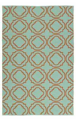Kaleen Brisa BRI07-B Rug-Orange-8' x 10' - Rugs USA