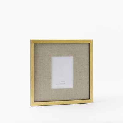 """Gallery Frames - Gold Leaf - 13"""" Sq. - West Elm"""